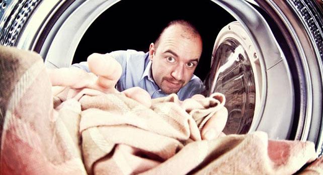 Bråk om tvättid